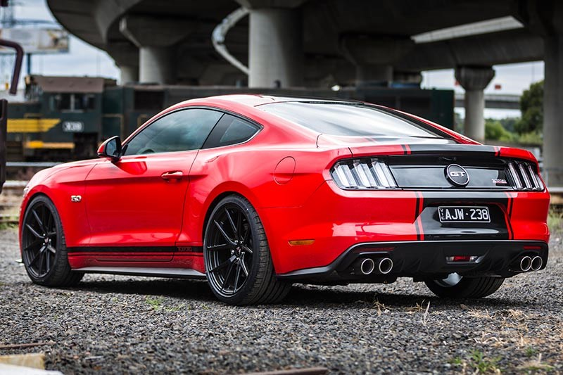 tickford mustang rear