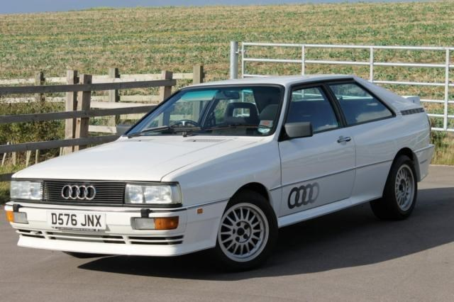 1987 Audi Quattro Turbo Coupe