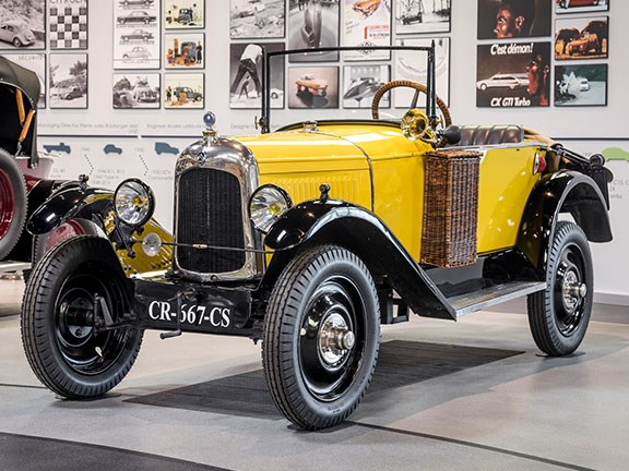 The Mullin Automotive Museum in Oxnard, California is hosting the biggest Citro�n exhibition ever held in the US.