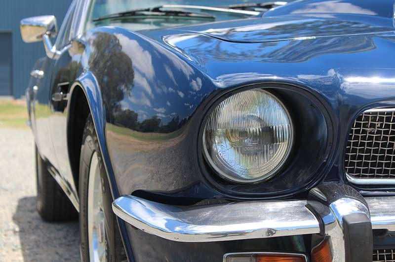 aston martin headlight