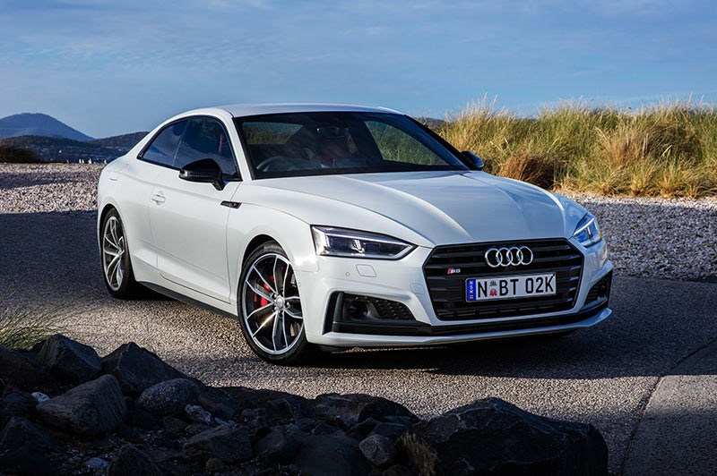 audi s5 front angle
