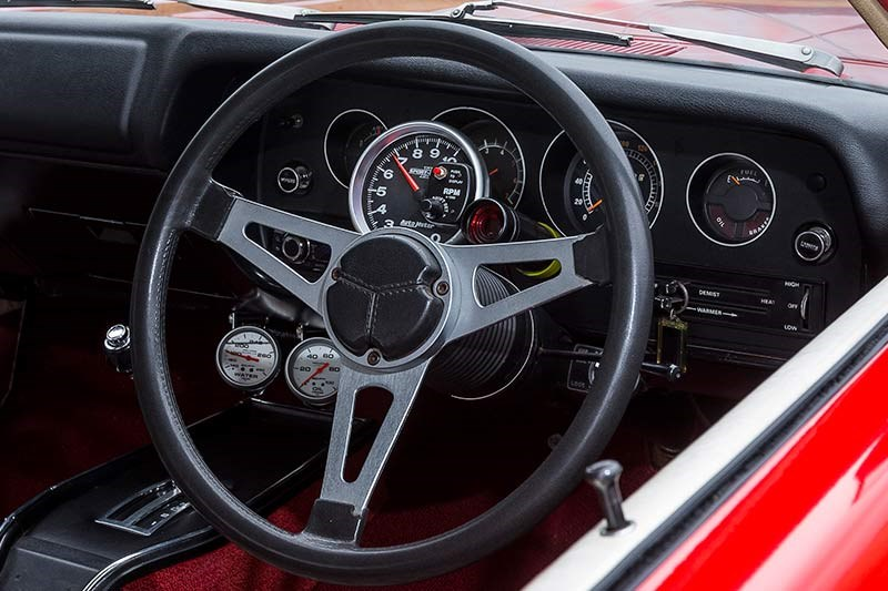 chrysler charger dash