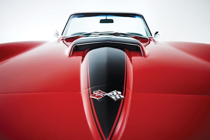 corvette bonnet