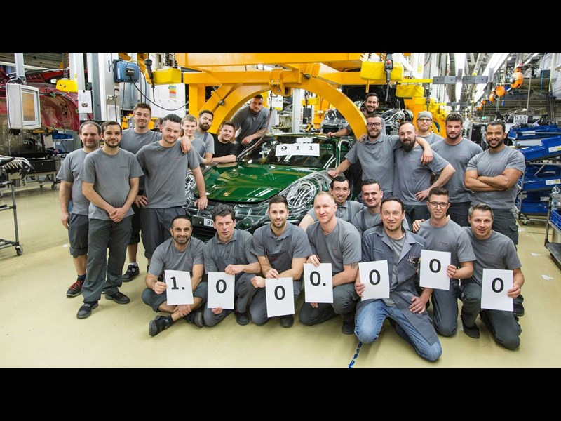 Porsche builds One-Millionth 911