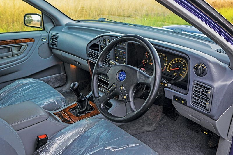 ford falcon gt interior front