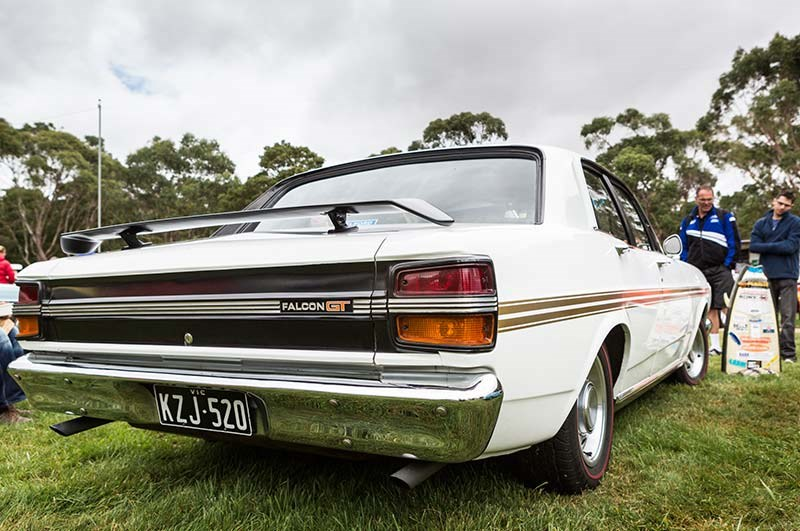 ford falcon xy 351 gt rear