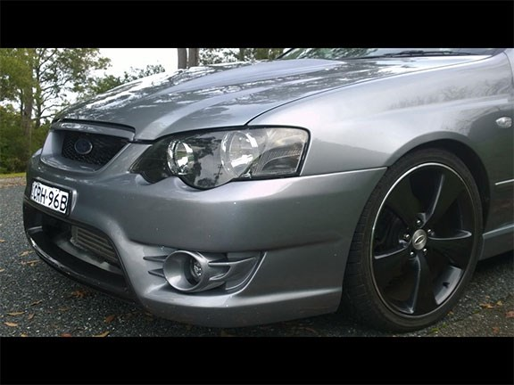 2002 BA Ford Falcon XR6 Turbo