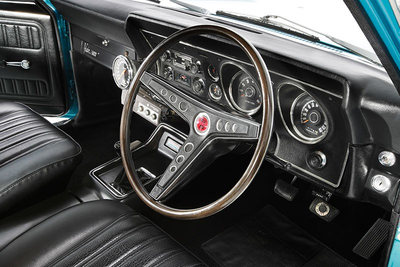 ford xy falcon dash