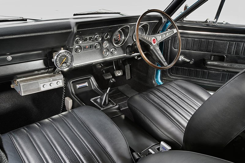 ford xy falcon interior