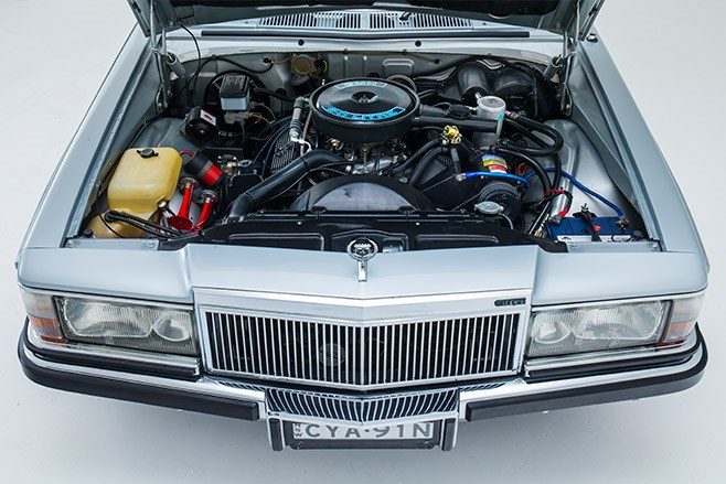 holden wb statesman engine bay