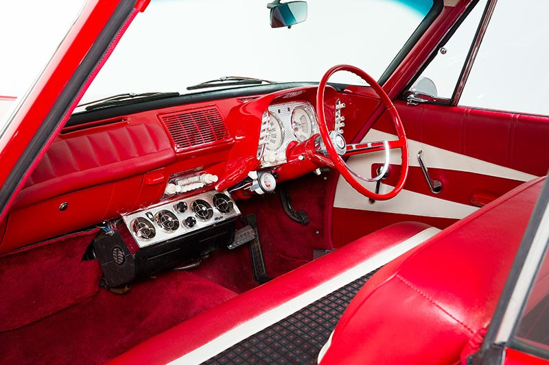 plymouth valiant interior