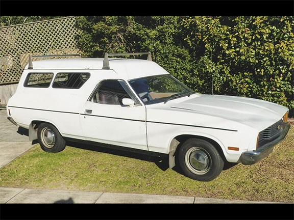 1978 Ford Falcon XC Panel Van