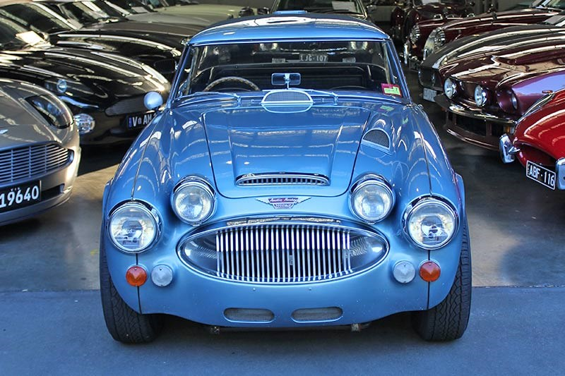 austin healey front