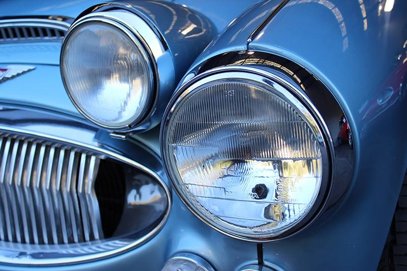 austin healey headlight