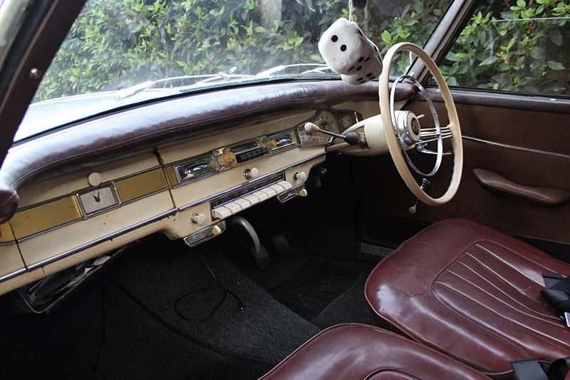 borgward interior