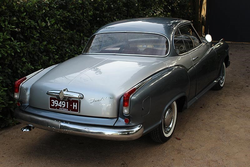 borward isabella rear