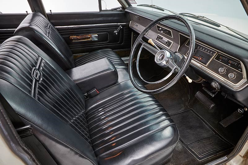 chrysler valiant wagon interior