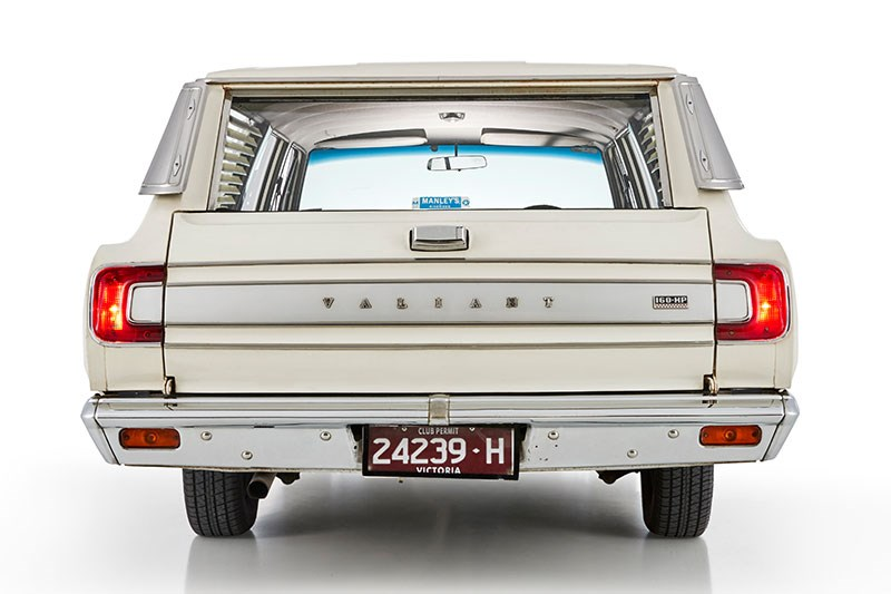 chrysler valiant wagon rear