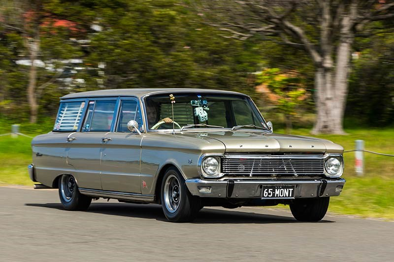 ford fairmont wagon onroad