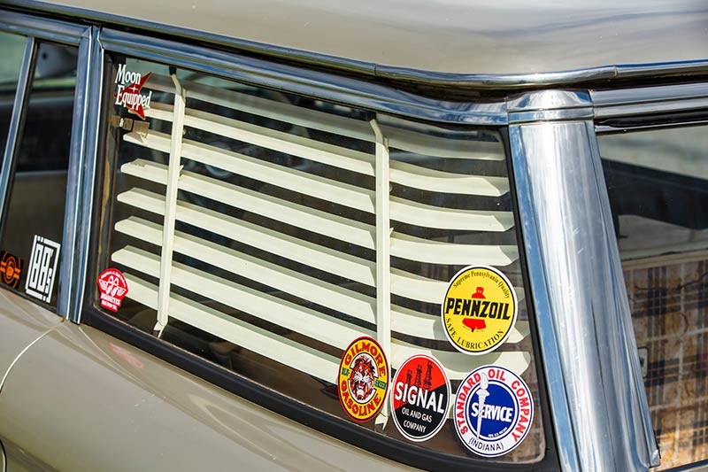 ford fairmont wagon venetian blind