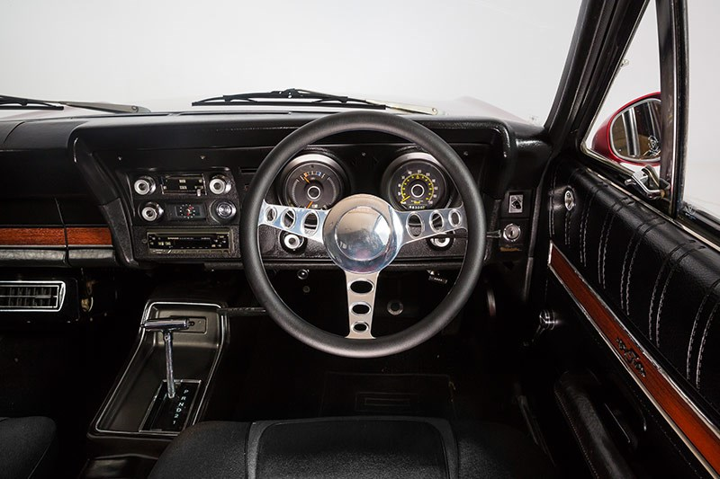 ford xy falcon wagon dash