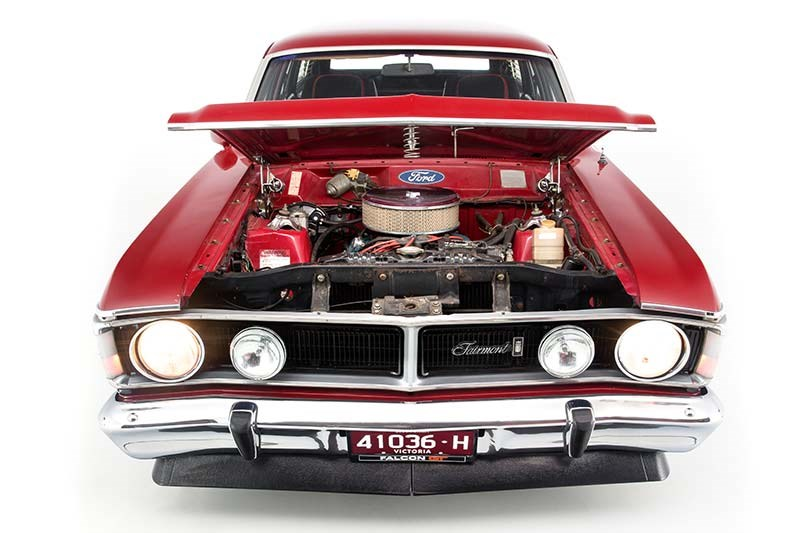 ford xy falcon wagon engine bay 3