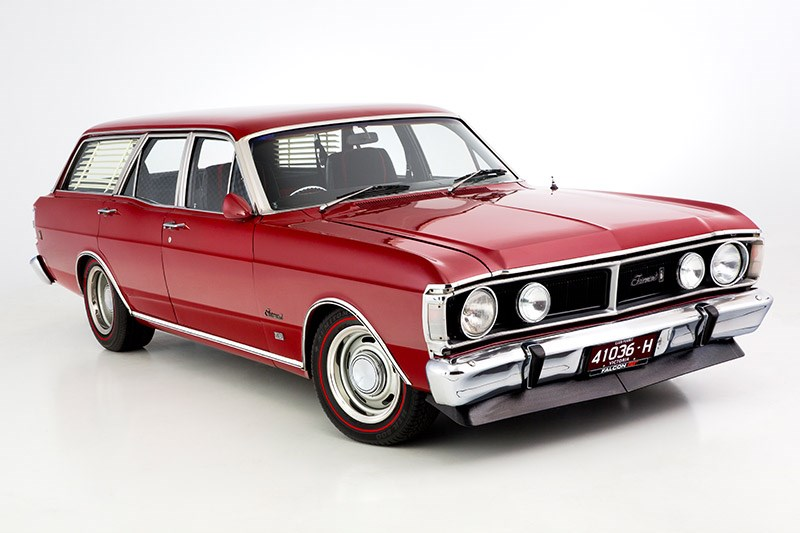 ford xy falcon wagon front angle