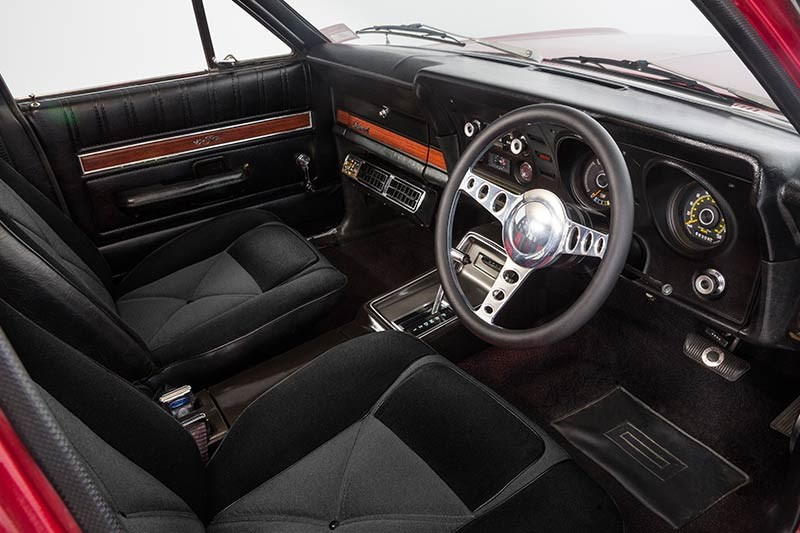 ford xy falcon wagon interior