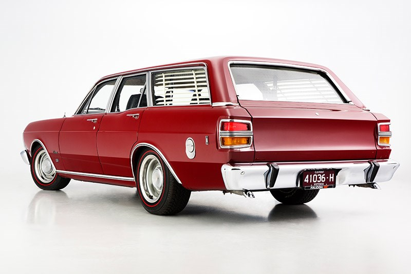 ford xy falcon wagon rear angle 2