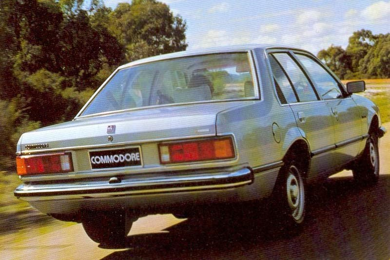 holden vb commodore rear