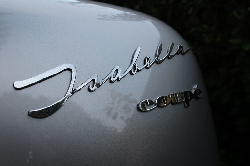 isabella coupe