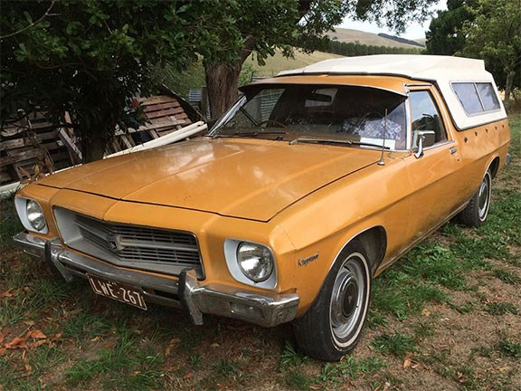 1974 Holden HQ Kingswood Ute