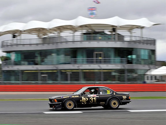 Richo tackles Silverstone Classic