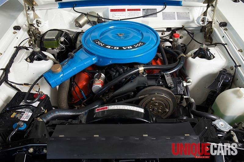 ford falcon xc cobra engine bay