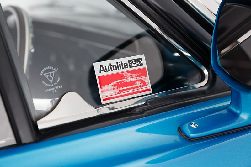 ford falcon xw gtho autolite sticker