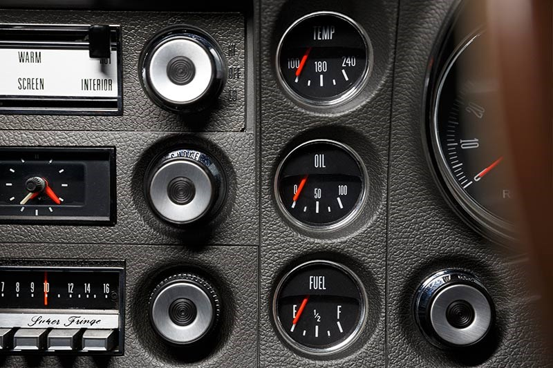 ford falcon xw gtho dash