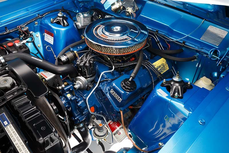 ford falcon xw gtho engine bay