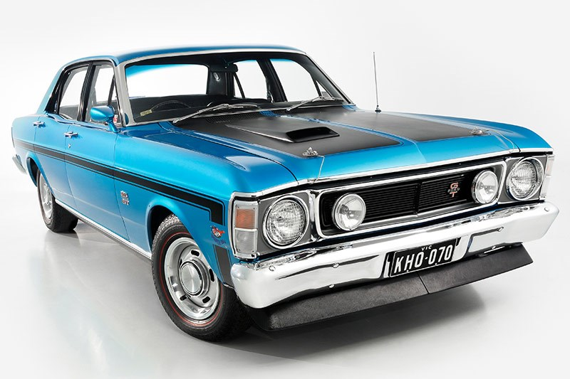 ford falcon xw gtho front angle
