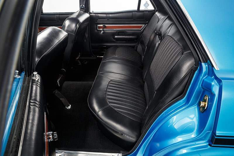 ford falcon xw gtho interior rear