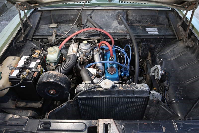 holden hb torana engine bay 2