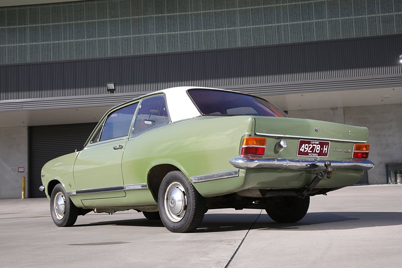 holden hb torana rear view