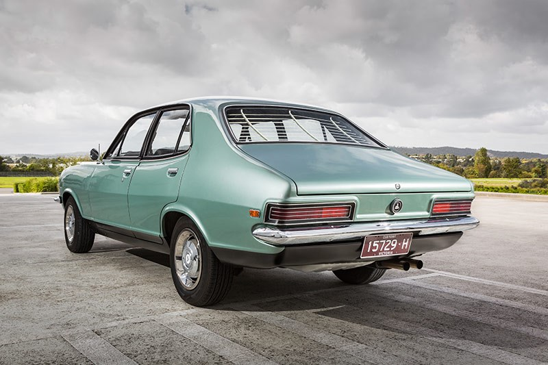 holden lc torana rear
