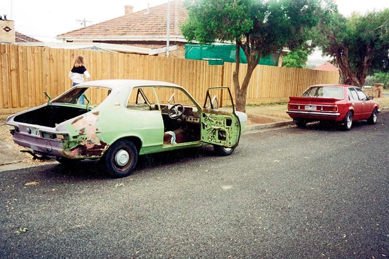 holden torana build shot 2
