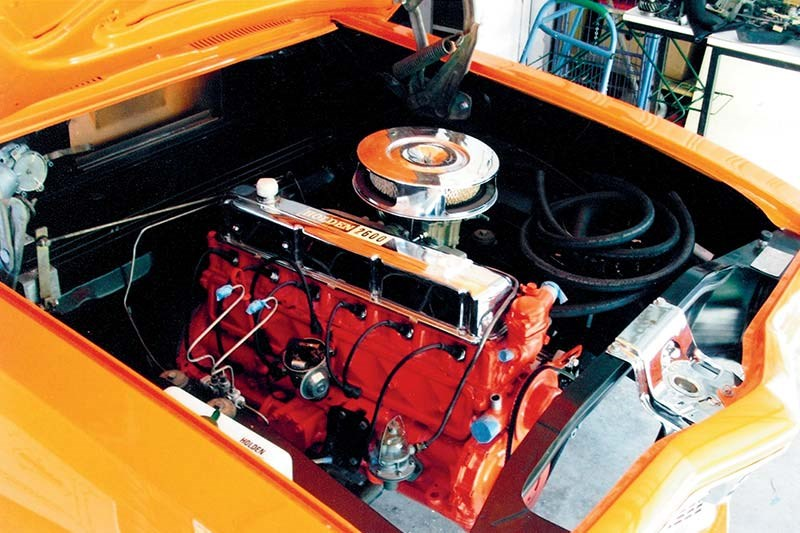 holden torana build shot engine