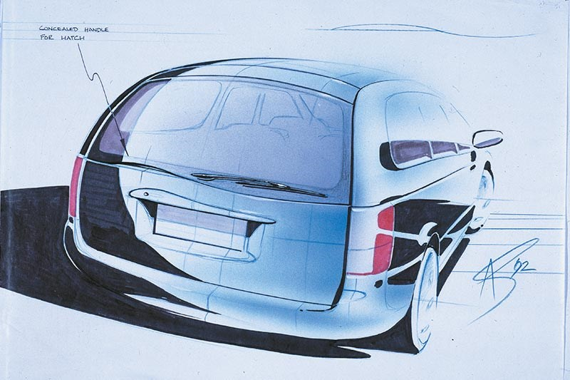 holden vt commodore sketch 2
