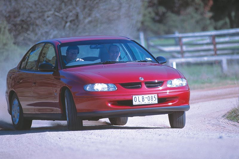 holden vt commodore test 2