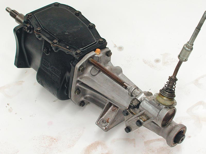 borgwarner single rail gearbox