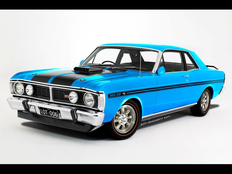 ford falcon gtho phase iii