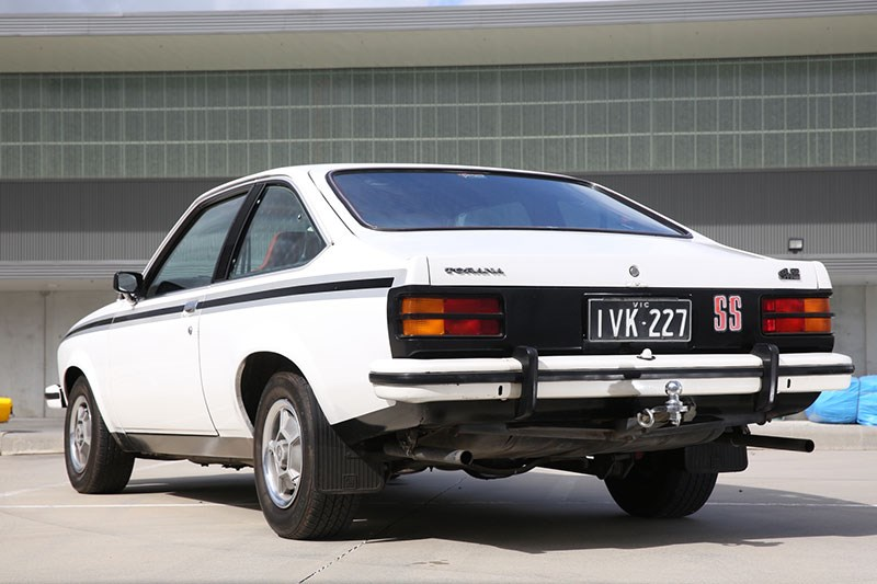 holden torana lx rear