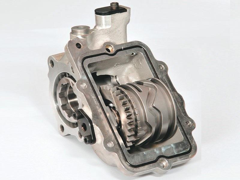 holinger sequential off gearbox